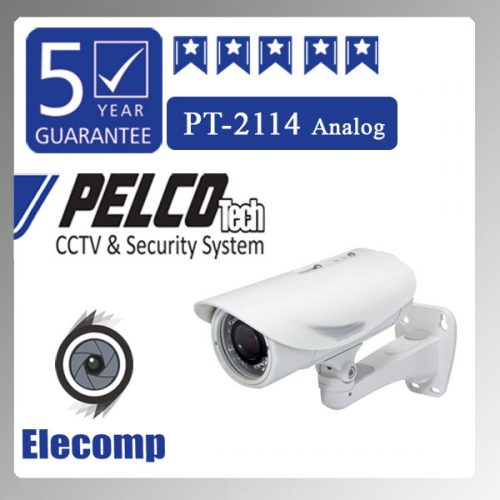 2114 500x500 - دوربین مداربسته مدل PT-2114 Analog
