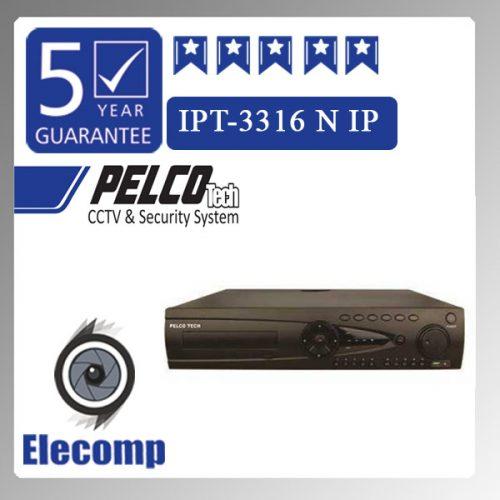 3316 500x500 - دستگاه NVR  مدل  3316  IPT