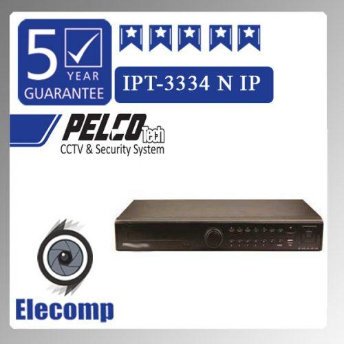 3334 500x500 - دستگاه NVR  مدل 3334  IPT
