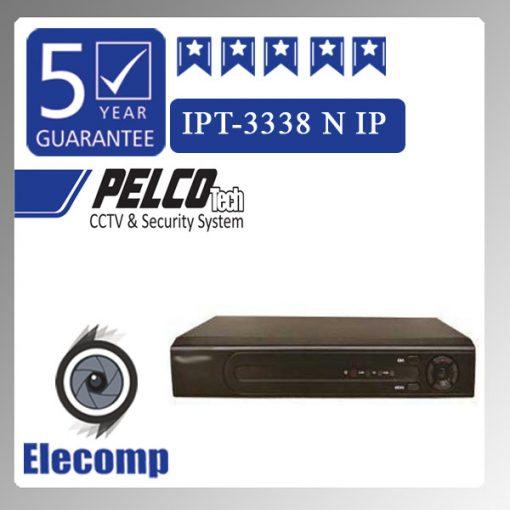 3338 510x510 - دستگاه NVR هشت کاناله مدل 3338  IPT-الکامپ