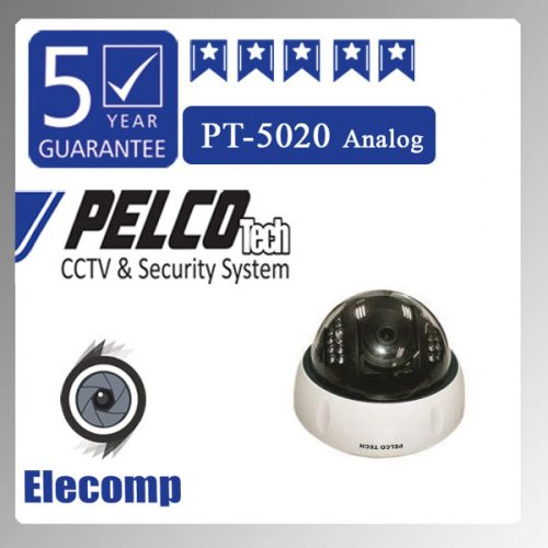 5020 500x500 - دوربین مداربسته مدل PT-5020 Analog