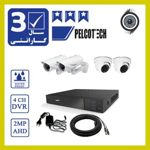 4ch 1 500x500 - پکیج 4 عدد دوربین مداربسته