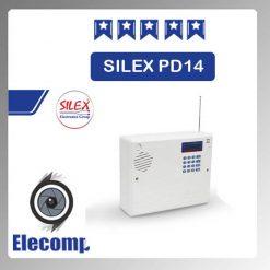 silex 247x247 - دستگاه مرکزی اعلام سرقت 4زون PD14 SILEX