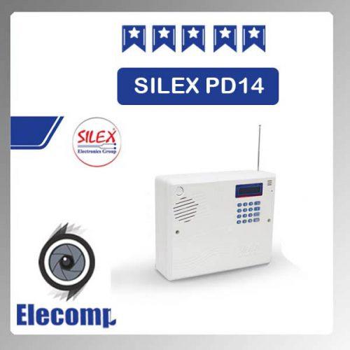 silex 500x500 - دستگاه مرکزی اعلام سرقت 4زون PD14 SILEX
