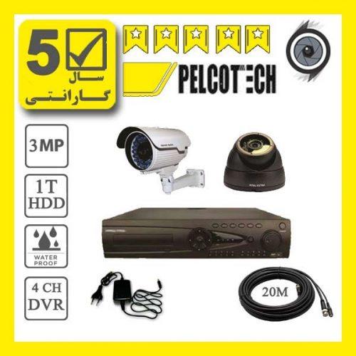 pelco2p 2 500x500 - پکیج 2 عدد دوربین مداربسته