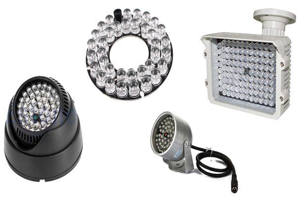 LED1 1 600x400 - پروژکتور مادون قرمز دوربین مدار بسته