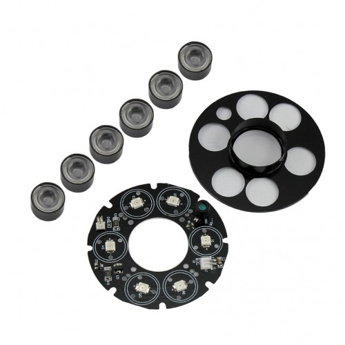 Six Arrays Light 2 500x500 - انواع LED دوربین مدار بسته