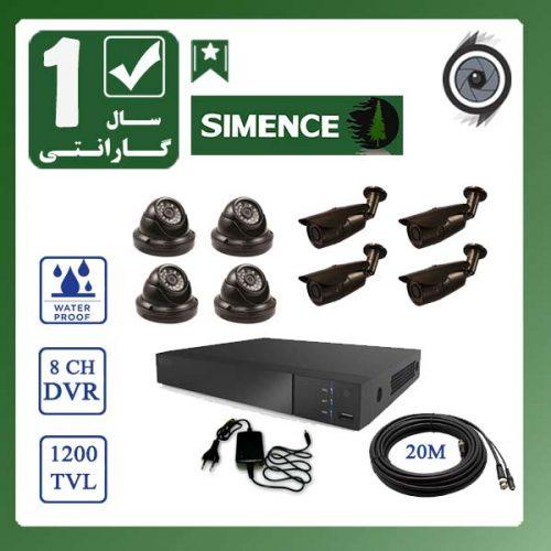 product8 1 500x500 - پکیج دوربین مدار بسته 8 عددی ویژه