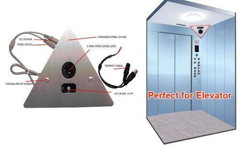 ویژگی های مهم دوربین مدار بسته مناسب در آسانسور دوربین مداربسته ، سیستمهای حفاظتی امنیتی ، الکامپ